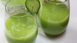 Melon Cucumber Juice - Pregnancy Week 21