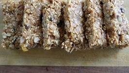 Cereal Bar With Oats And Amaranth -No Bake Can Be Vegan