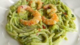 Avocado Shrimp Pasta