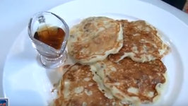 Savory Sausage Cheddar Pancakes