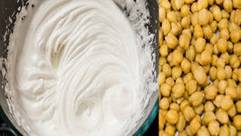 Make Whipped Cream from Chickpeas - Only 2 Ingredients  Aquafaba - Eggless Recipes Series