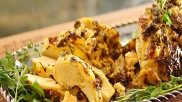 Herb Dijon Baked Chicken -In The Kitch