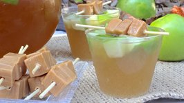 Sparkling Caramel Candy Apple Punch