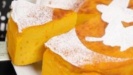 Pumpkin Cheesecake (Halloween Recipe)