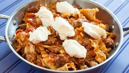 Stove Top Lasagna - Cheap Eats