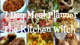 Meal Plan 2  Lentil Soup, Flautas, Chorizo Stuffed Chicken, Meatloaf and more!