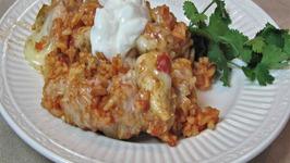 Southwest Chicken Skillet  One Pot Meal