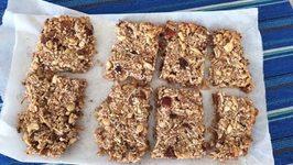 Homemade Tasty Bars Breakfast On the Go Vegan