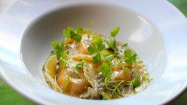 Roasted Butternut Squash Ravioli with Sage Cream Sauce