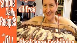 Make Em Again Black Bean Enchiladas