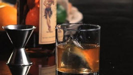 Rum Old Fashioned Cocktail