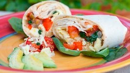 Veggie Breakfast Burrito