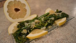 How To Cook Pan Sautéed Broccolini With Pomelo Zest Butter