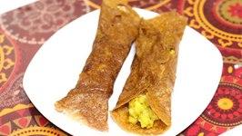 Farali Aloo Masala Dosa For Upvas Vrat  Fasting Recipe