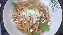 Spaghetti Aglio e Olio aka Pantry Pasta