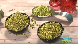 Sprouted and Boiled Moong