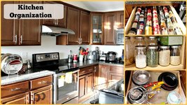 Kitchen Organization Ideas Kitchen Tour  Kitchen Storage