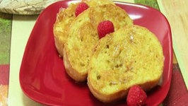 Eggless French Toast - Custard French Toast bread