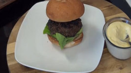 Jamaican Jerk Burger