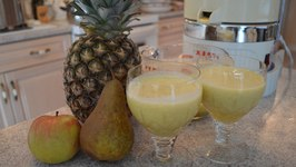 How to Make Apple Pear and Pineapple Juice