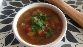 Roasted Eggplant and Tomatoes Stew Healthy Lunch Ideas