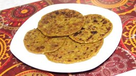 Farali Aloo Paratha For Upvas Vrat  Indian Fasting Potato Bread  Gluten Free Vegan