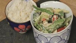 Healthy Thai Green Curry