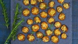 Simple Parmesan Roasted Yams