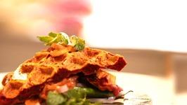 Missi Roti with Subz Seekh  Yummy Recipe
