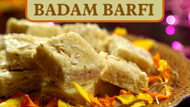 Badam Burfi Recipe  Diwali Special - Indian Sweet Recipe  Ruchi's Kitchen