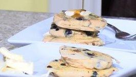 Conscious Living - Gluten Free Blueberry Pancakes