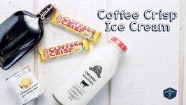 Coffee Crisp No-Churn Ice Cream