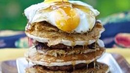 Island Grillstone Stacker Breakfast - It Is HUGE!
