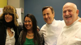 In The Kitch with Daniel Boulud, Dominique Crenn and Michel Richard