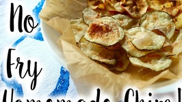 Easy 10 Minute Potato Chips  How To Make Apple Chips