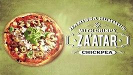 Harissa Hummus With Crispy Za'atar Chickpea  Gourmet Under 30 Mins With Rakhee