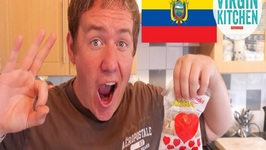 Tasting Some Ecuador Treats