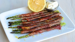 Appetizer Recipe Proscuitto Wrapped Asparagus