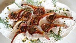Dinner Recipe Grilled Herb Lamb Chops