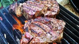 Forward Seared Angus Rib Eye Steaks