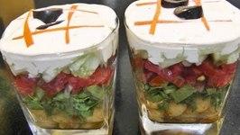Layered Salad - Healthy Recipe