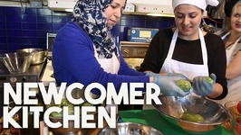 NEWCOMER Kitchen - Home For The SYRIAN Refugees To Make A New Life!