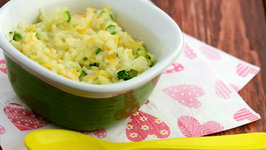 Spring Vegetable Risotto (Healthy Kids)