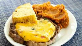 Southwest Style Pork Chop Dinner - Velveeta Treasure Chest Challenge