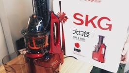 SKG Big Calibre Slow Juicer Review
