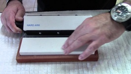 How To Use A Sharpening Stone-Knives Knife Sharpening All About Arkansas Stones Tutorial