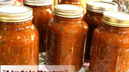 Canning 1st Garden Salsa With Linda's Pantry