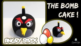 Angry Birds 3D BOMB Cake