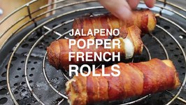 Jalapeno Popper French Rolls