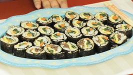 Korean Sushi- Kimbap